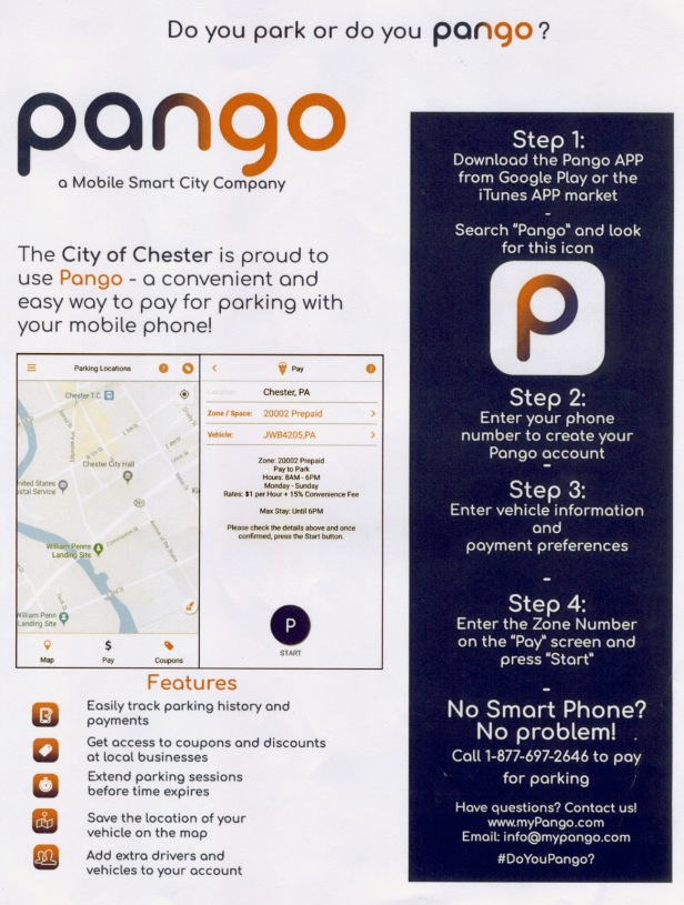 Chester City Pango