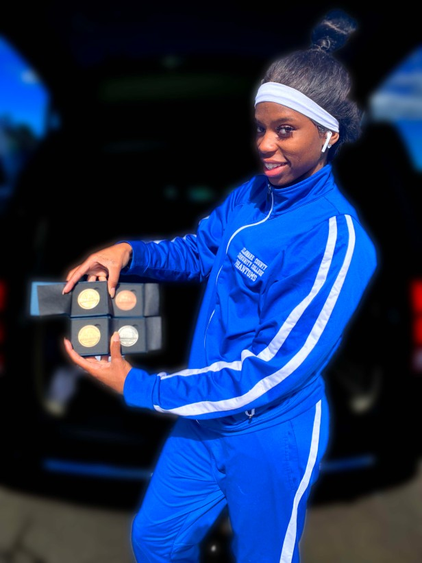 Taneira Bowman w medals