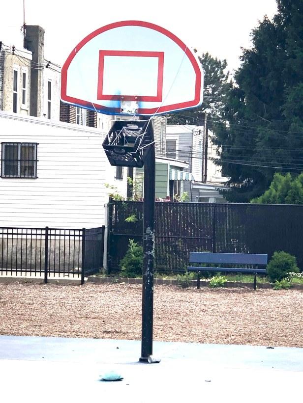 chester basketball hoop