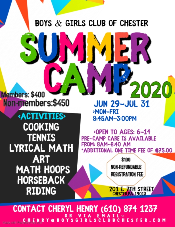 Copy of Summer Camp Flyer - Made with PosterMyWall